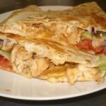 csirkes-quesadilla